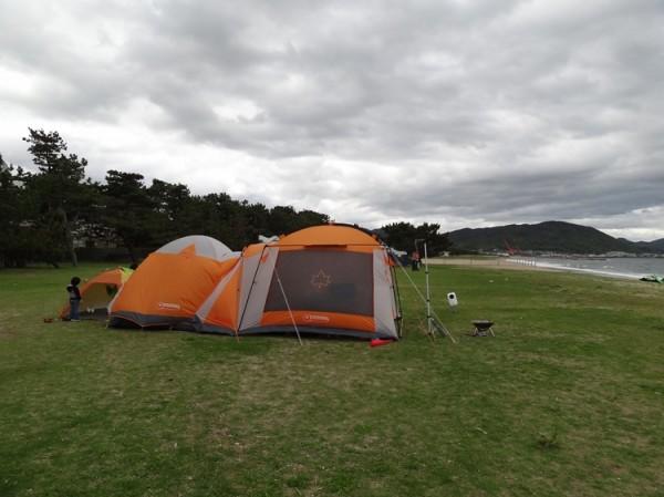 慶野松原キャンプ場フリーサイト02