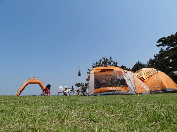 2012年GWは慶野松原海水浴場・キャンプ場へ