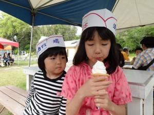 淡路島牧場の牛乳ソフトクリーム02