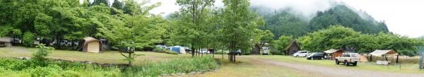 美山町自然文化村オートキャンプ場-パノラマ