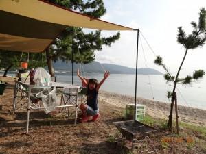 近江舞子中浜キャンプ場-フリーサイト001