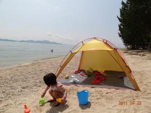 近江舞子中浜キャンプ場-フリーサイト004