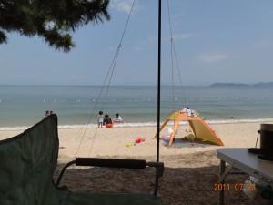 近江舞子中浜キャンプ場-フリーサイト012