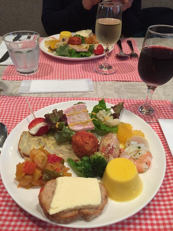 宇治平等院の行ったとき和食と思いきやイタリアンランチをなら「ヴィコロ」