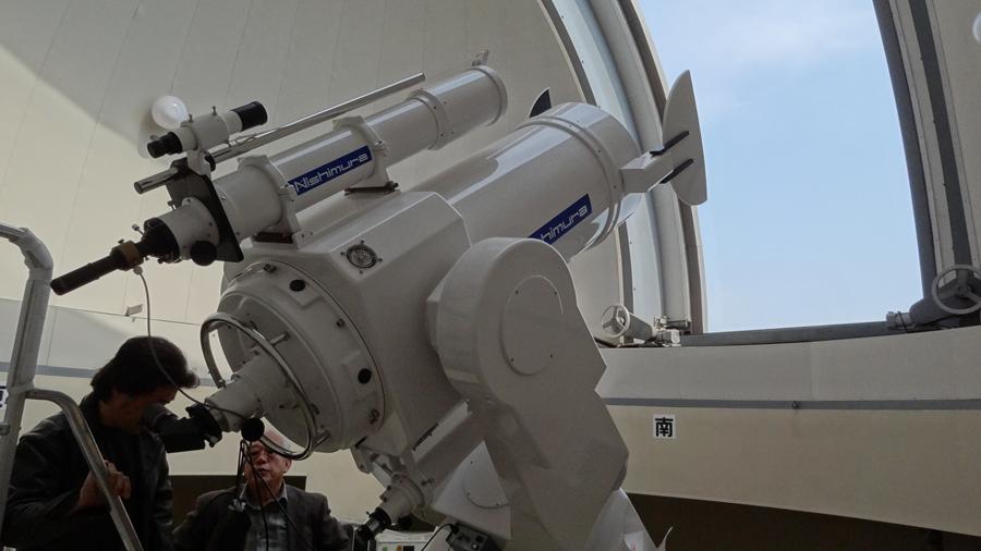 大野山アルプスランドでキャンプ場の夜のお楽しみ…猪名川天文台で星を堪能