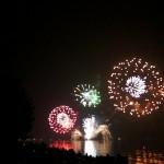 今年も近江舞子中浜キャンプ場で観る2013年大津志賀花火大会
