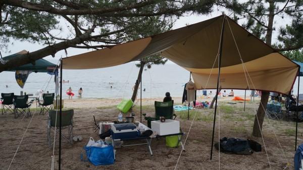 2013年近江舞子中浜キャンプ場-06