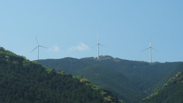 和歌山県日高郡風力発電-日高町大平山ウィンドシステム