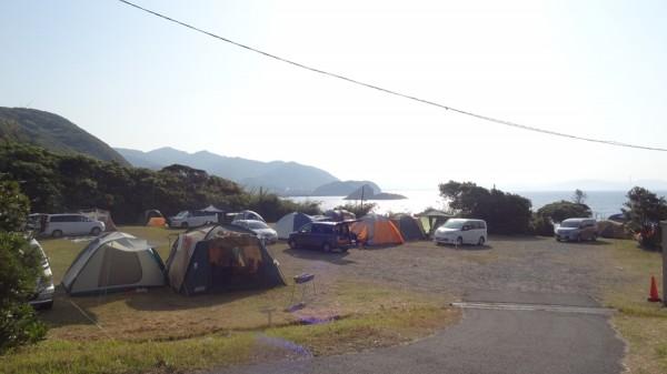日の岬オートキャンプ場-海辺のキャンプ場です