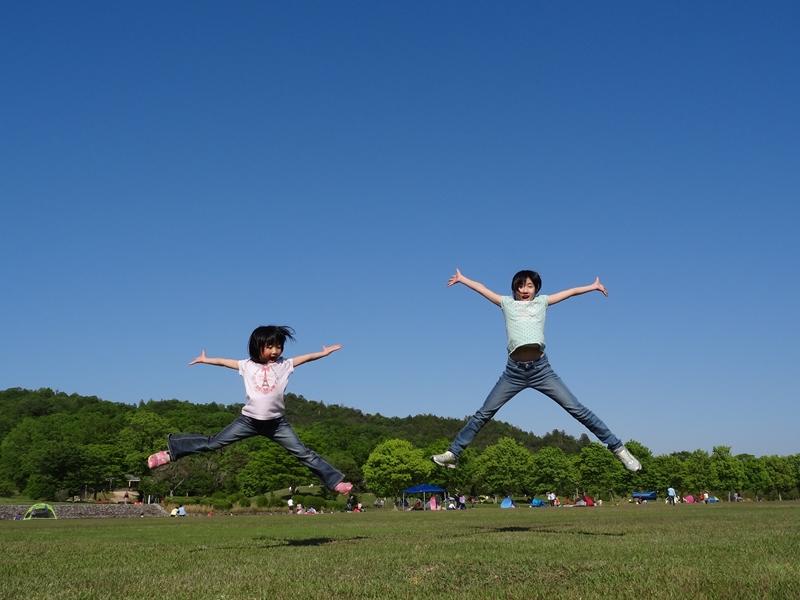 マイアミ浜キャンプ場から滋賀希望ヶ丘文化公園で遊ぶ…